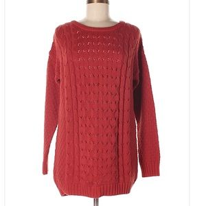 Old Navy coral medium sweater.